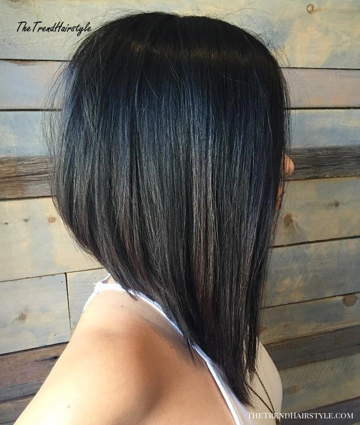 Shaggy Inverted Bob , 50 Trendy Inverted Bob Haircuts , The