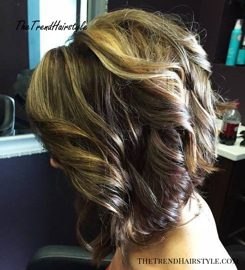 two-tone brown and golden blonde hair