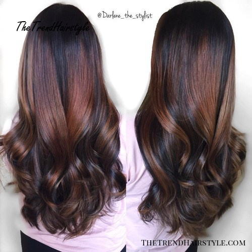 Long Wavy V Cut 40 V Cut And U Cut Hairstyles To Angle Your Strands To Perfection The Trending Hairstyle