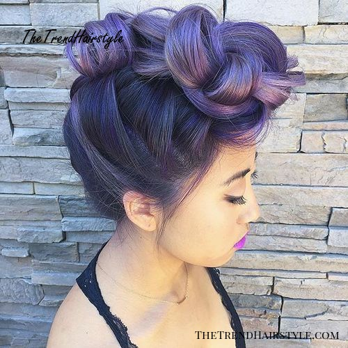 Two Trick Ponytail Faux Hawk 20 Newest Faux Hawks For Girls And Women The Trending Hairstyle
