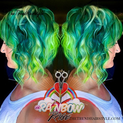 Pretty Pastel Hair 20 Rainbow Hair Pictures To Join The